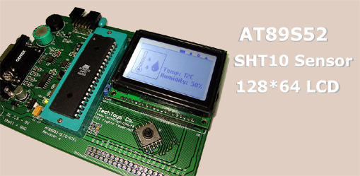 Atmel 89s52 At89s52 Glcd Stk1